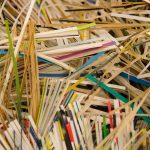 zniszczone dokumenty przez niszczarkę